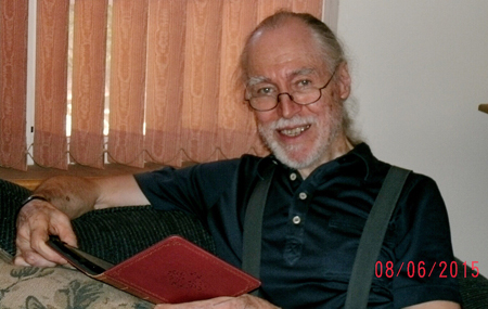 Piers Anthony at 81, Aug. 6, 2015